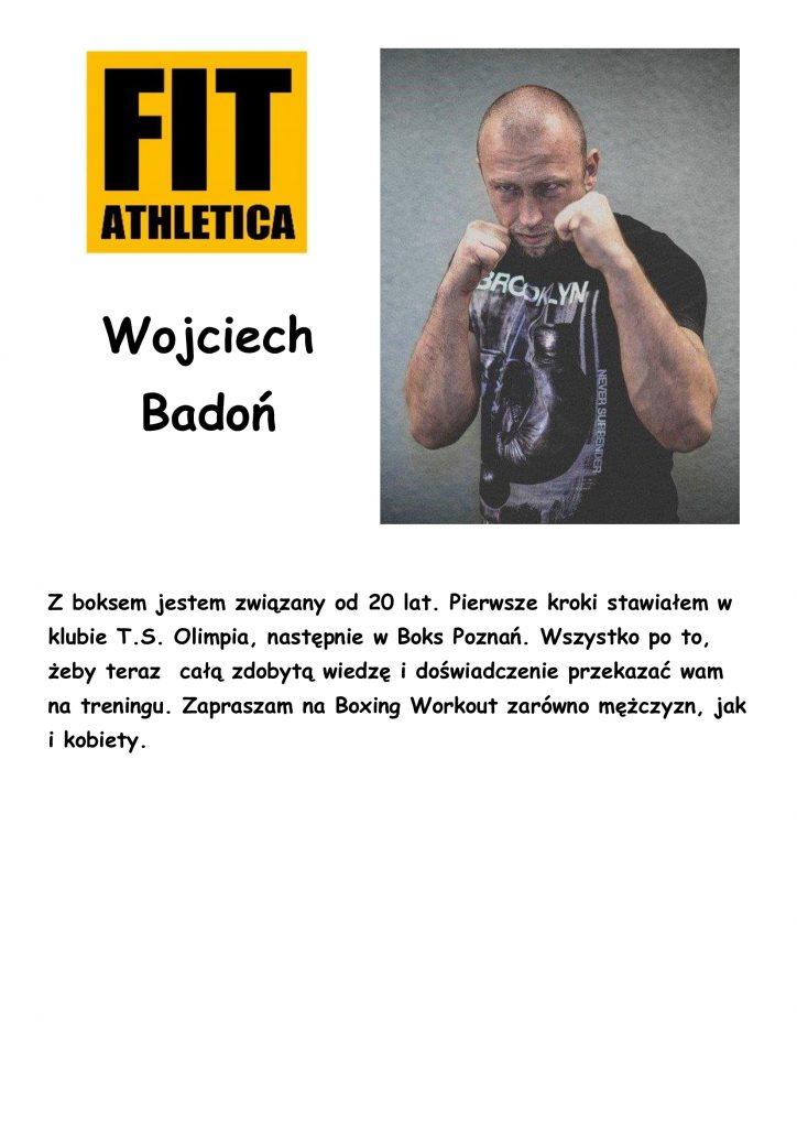 sylwetka trenera - Wojciech Badoń